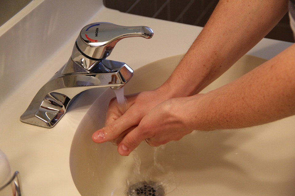 workplace hygiene wash hands